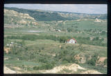 Aerial view of Chateau de Mores, Medora, N.D.