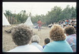 Scene from Corps of Discovery Pageant, Knife River Indian Villages Historic Site, N.D.