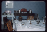Formal dining room, Chateau de Mores, Medora, N.D.