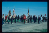 Marching into Canada, Border Memorial Day Ceremonies, Sherwood, N.D.