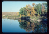 Autumn beauty from bridge, Mouse River Park, Tolley, N.D.