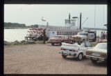 Far West riverboat at landing in Bismarck, N.D.