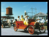 Antique automobiles parade, Pioneer Days, Bonazaville, West Fargo, N.D.