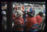 Red Nation singers at International Pow-wow, UTTC College, Bismarck, N.D.