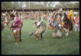 Men and Boys Fancy Dance, United Tribes International Powwow, Bismarck, N.D.
