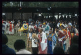 Grand entry with Miss Indian America and Miss United Tribes, United Tribes International Powwow, Bismarck,