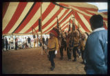 Indian Legionaires leading grand entry, Mandan Indian Cultural Powwow, Mandan, N.D.