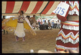 Girls Shawl Dance, Mandan Indian Cultural Powwow, Mandan, N.D.