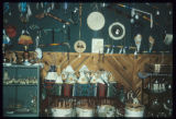 Crafts display, Turtle Mountain Museum, Belcourt, N.D.