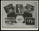 Lawrence Welk and his Hotsy Totsy Orchestra postcard