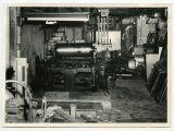Pierce County Tribune printing equipment, Rugby, N.D.