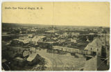 Bird's eye view of Rugby, N.D.
