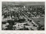 Aerial view of Rugby, N.D.