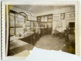 Interior of Security Bank, Rugby, N.D.