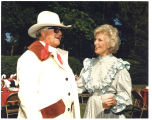 Jane Sinner with unidentified man, Bismarck, N.D.