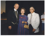 Governor George Sinner with Ted and Norma Boutrous, Bismarck, N.D.