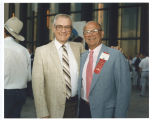 Ernie Sands and Allen Olson at North Dakota Centennial, Bismarck, N.D.