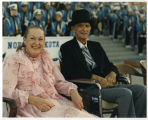 Marilyn and John Davis at North Dakota Centennial Celebrations, Bismarck, N.D.