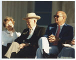 Jocelyn Burdick, Senator Quentin Burdick and Allen Olson at North Dakota Centennial celebration,...