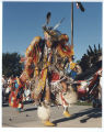Native American dancers at North Dakota Centennial celebrations, Bismarck, N.D.