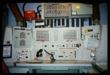 Control panel inside missile launch facility, North Dakota