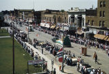 Elks Parade, looking west on the 500 block of Main Avenue, Bismarck, N.D.