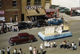 Bismarck Tribune float in Elks Parade, 500 block Main Avenue, Bismarck, N.D.