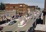 Elks Parade, looking east on Main Avenue from the 500 block of Main, Bismarck, N.D.
