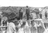 Governor A.G. Sorlie and other on Badlands tour