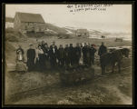 Ingeson Coal Mine owned by J.W. Ingeson on Upper Des Lacs Lake, Kenmare, N.D.