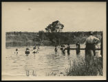 Swimming lessons, Kenmare, N.D.