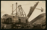 Marion steam shovel at Whittier Crockett Coal Company, Columbus, N.D.