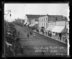 Pony Race on Market Day, Kenmare, N.D.