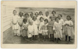 Students of a country school, McKenzie County, N.D.