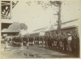 1st North Dakota Infantry at guard mount, Philippines