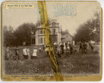 Bicycle club at the Webb home, Pembina, N.D.