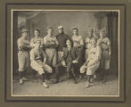 Bowesmont baseball team group portrait