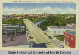 Looking west towards Fargo, N.D. from atop Frederic Martin Hotel, Moorhead, Minn.