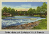 Rapids and dam, Island Park, Fargo, N.D.