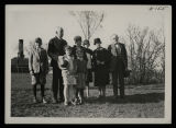 Captain Roald Amundsen, Mrs. F.L. Conklin, Mrs. Florence Davis, Judge A.M. Christianson and...