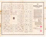 Plat of the Capital Park in the city of Bismarck, Dakota Territory