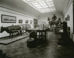 Exhibit room, Liberty Memorial Building, Bismarck, N.D.