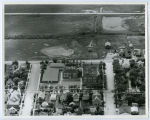 Aerial over school, Stanley, N.D.