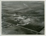 Aerial over Signal Oil and Gas plant, Tioga, N.D.