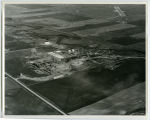 Aerial over Signal Gas and Oil Plant, Tioga, N.D.