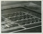 Aerial over housing project, Tioga, N.D.
