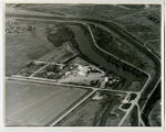 Aerial over packing plant, Williston, N.D.