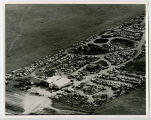 Aerial over auto salvage yard, Williston, N.D.