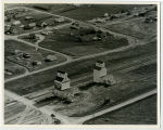 Aerial over Occident Elevator, Zahl, N.D.