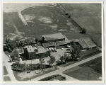 Aerial over school, McGregor, N.D.